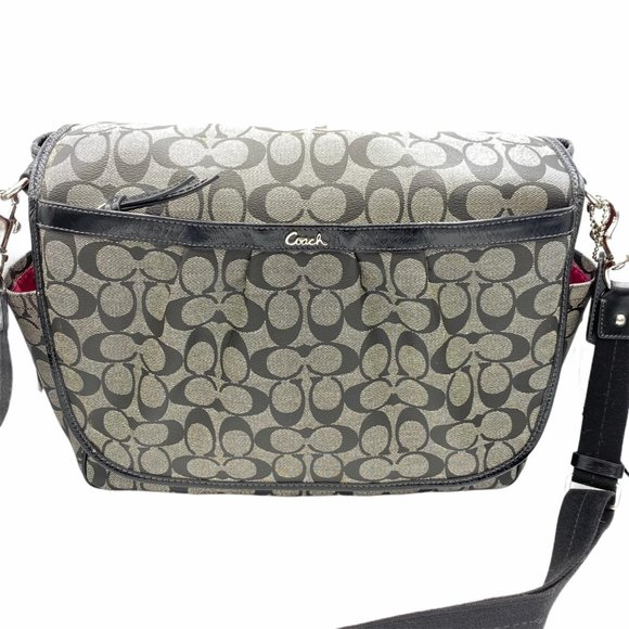 COACH • Signature Canvas Baby Messenger Bag F18373